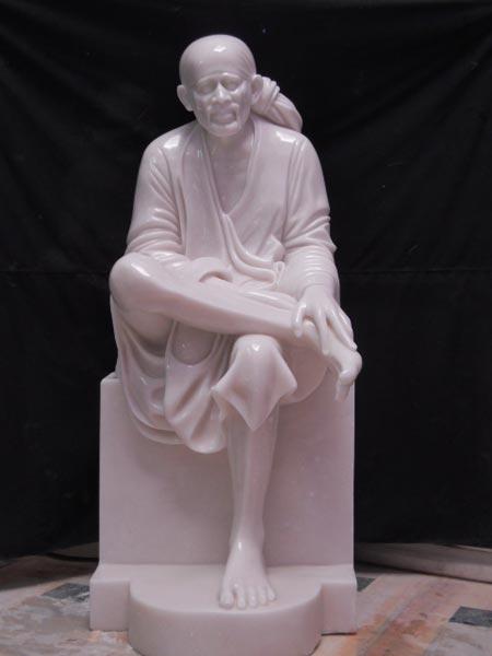 Sai Baba Statues White Marble Sai Baba Statue Exporters In