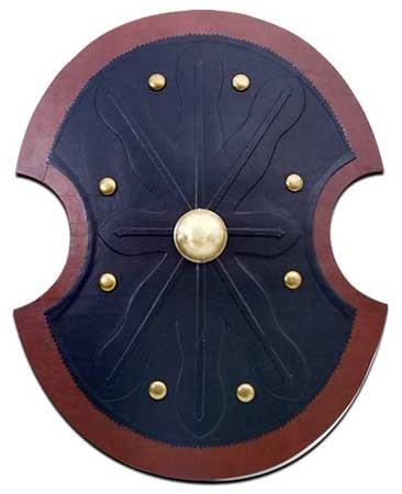 Ancient trojan shield