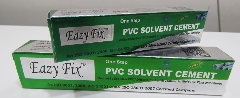 Solvent cement adhesive cpvc