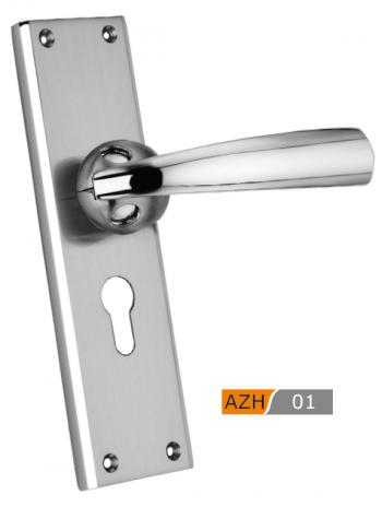 AZH Zinc Mortice Door Handle