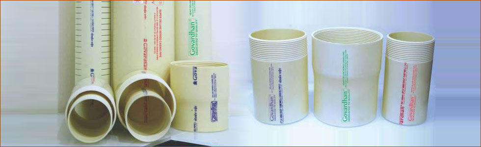 Govardhan Upvc Agricultural Pipes Manufacturer Supplier in