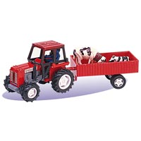 Country Farm Tractor Set