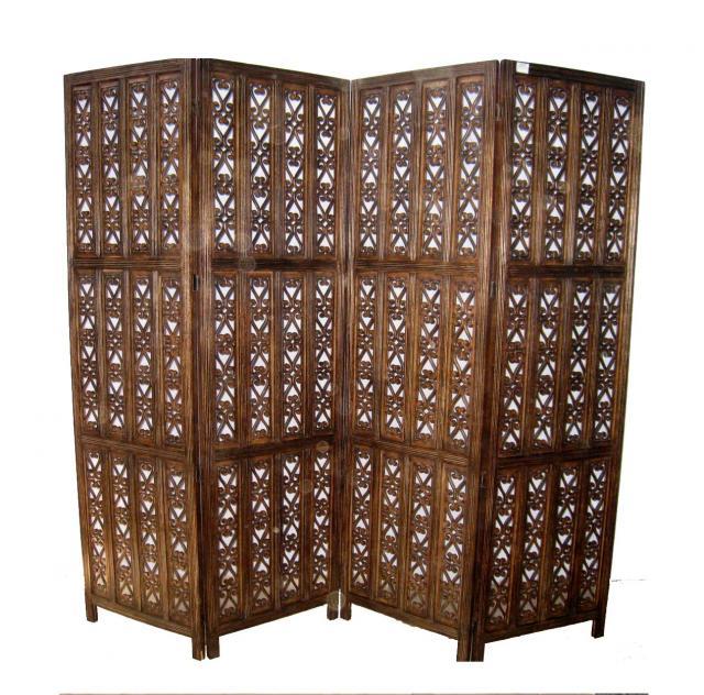 Wooden Room Divider  02
