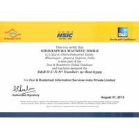 D & B Certificate 01