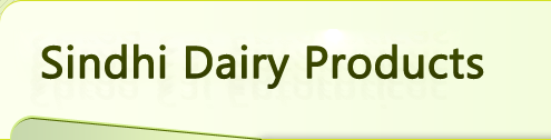 Sindhi Dairy Products