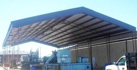 Steel Roof Fabrication Industrial Steel Roof Fabrication