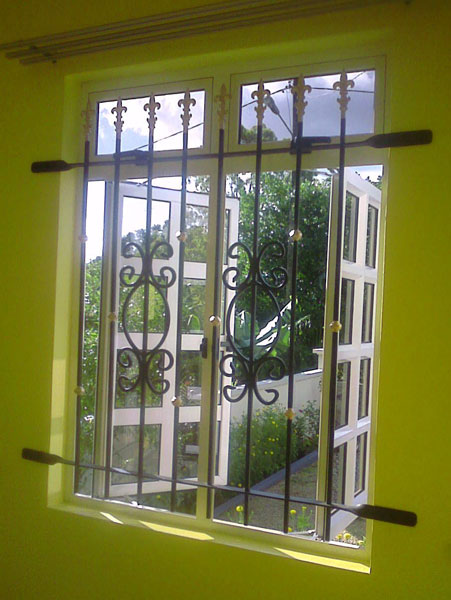 Steel window grills for windows