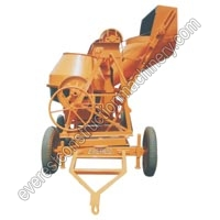 Concrete Mixer Full Bag Manually (10-7 CFT)