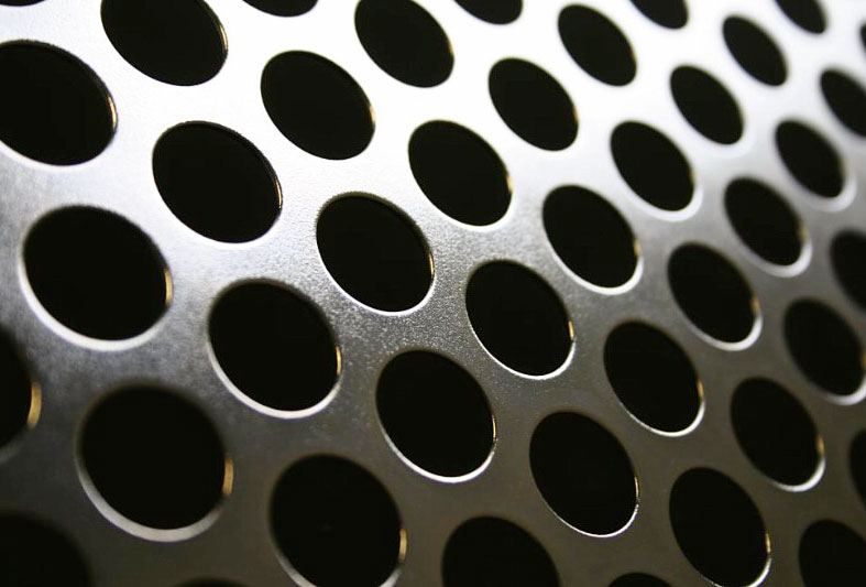 Ms Perforated Sheets Square Hole Perforated Sheet