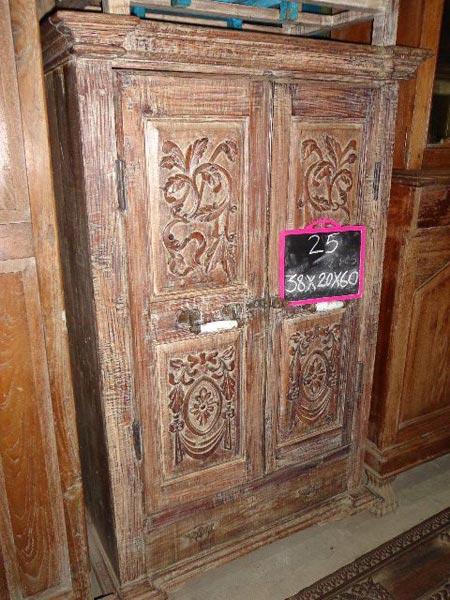 Wooden Almirah Carved Wooden Almirah Wood Almirah