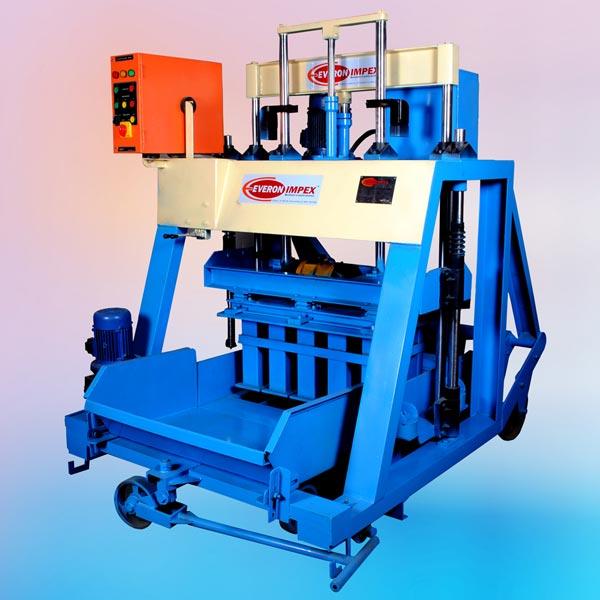 Cement Block Machines : Hydraulic concrete block making machines