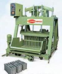 Concrete Block Making Machine with Feeder