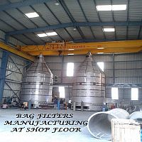Bag Filters Manufacturing at Shop Floor
