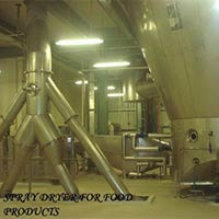 Spray Dryer for Food Products