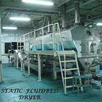Static Fluidbed Dryer