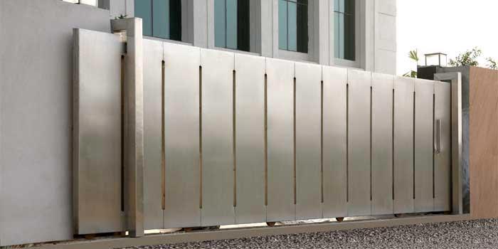 Stainless steel gates driveway gate supplier