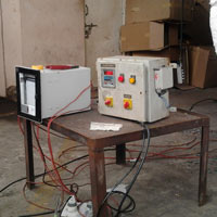 Control Panel & Temperature Recorder