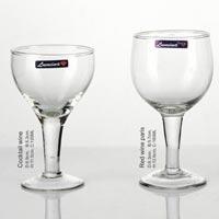 Glass Plain Wine Tumbler