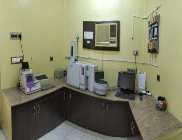 Gas Chromatograph Room
