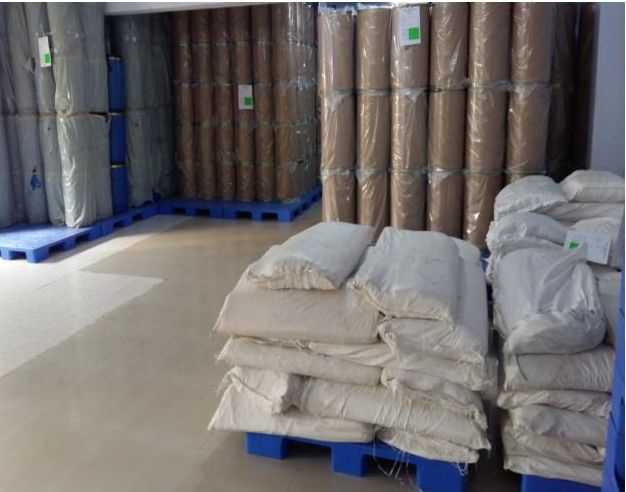 Packing Raw Material Storage Area