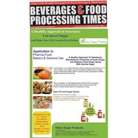 Beverages & Food Processing Times
