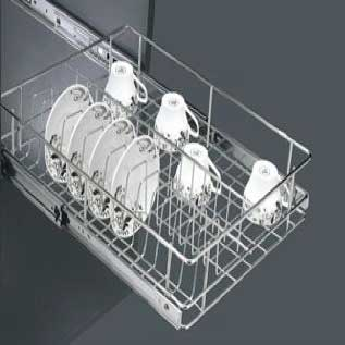Stainless steel wire basket stainless steel plate basket for Kitchen trolley designs catalogue