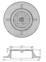 IS 1726/1991 Manhole Cover & Frames