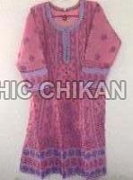 Chikan Embroidered Kurti