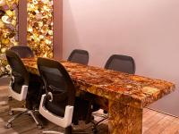 Semi Precious Stone Conferencing Table