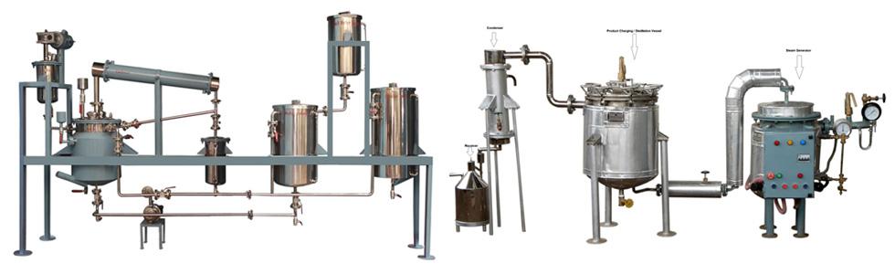 Rose Oil Distillation Unit Rose Oil Distillation Unit