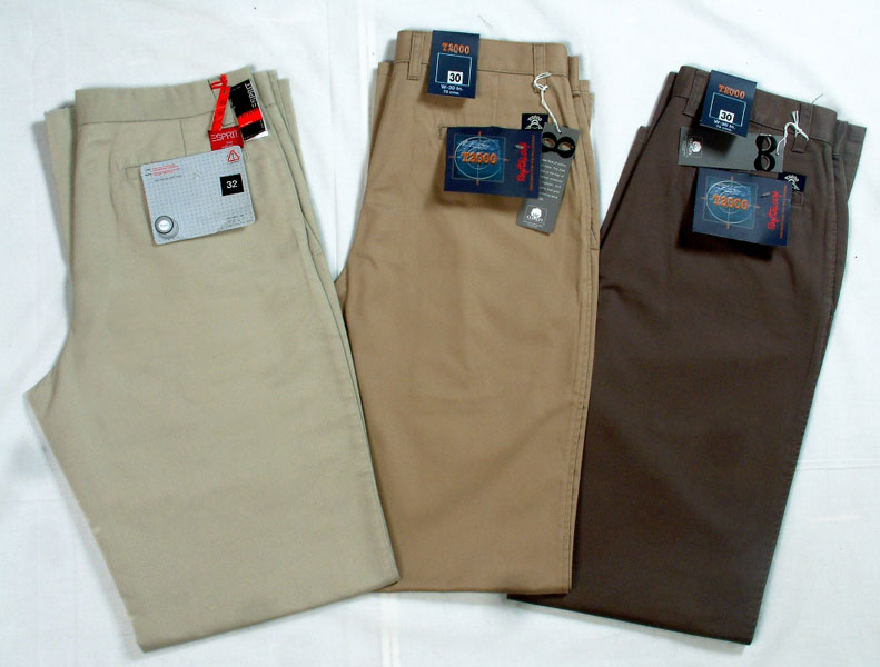 About Men's Pants. Whatever style of men's pants you're shopping for—from comfortable sweats, rugged utility pants, cargo pants, jeans, chinos and wrinkle-free dress khakis—your Original Outdoor Outfitter® is the best place to begin.