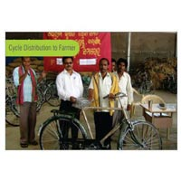 Cycle Distribution to Farmers