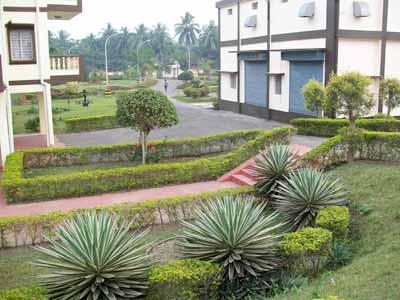 Land scaping for bunglow garden dongaria phe garden for Garden scaping