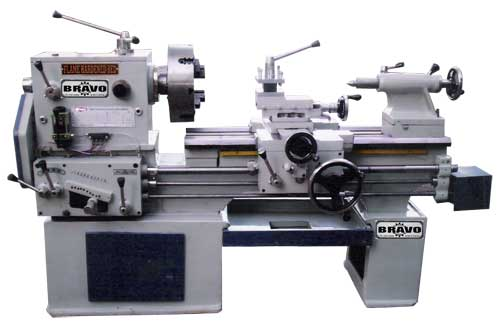 Lathe Machine Semi Gear Head Lathe Machine