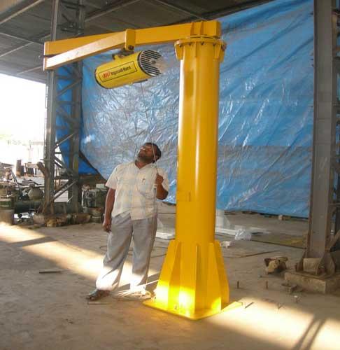 Accordion Articulated Arm : Jib cranes standard crane folding arm