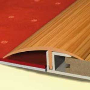 Pvc flooring profiles for Floor profile
