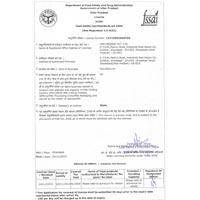 FSSAI License 01