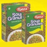 (Soya granules)