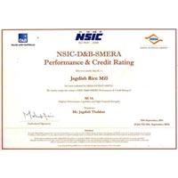 Nsic D&b Smera Performance & Credit Rating