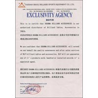 Certificate of Exclusivity Agency