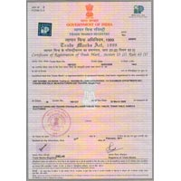 Certificate of Trade Mark 01