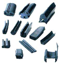 Extruded Rubber Profiles Rubber Extruded Profiles Rubber