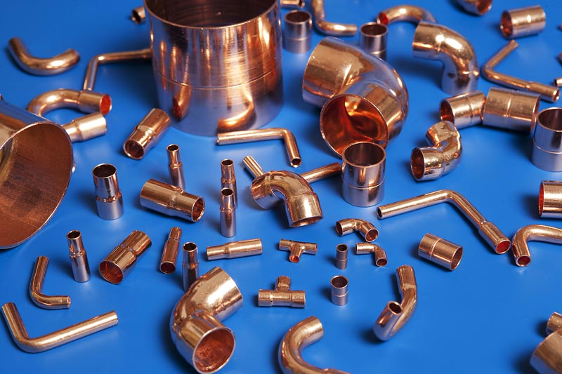 Copper tube fittings refrigeration