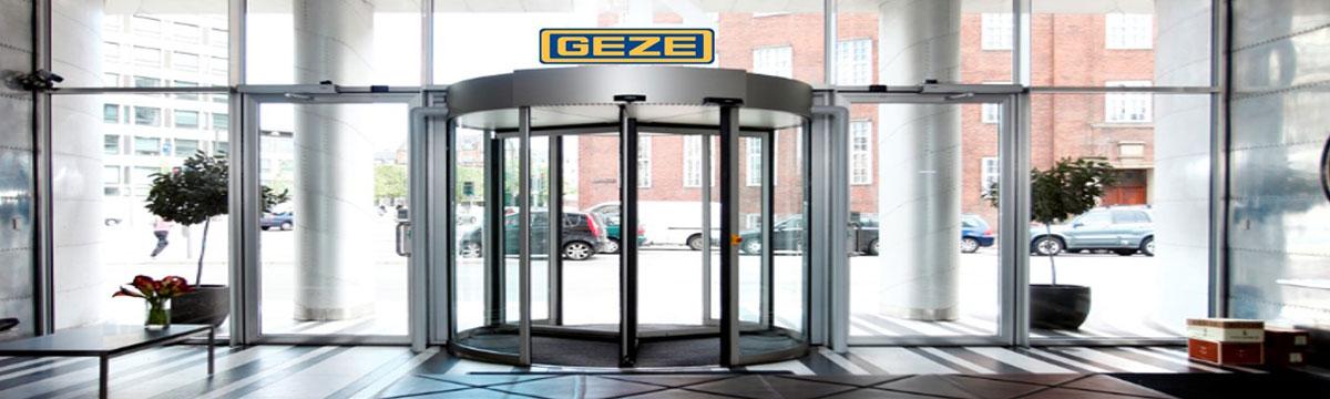 GEZE AUTOMATIC REVOLVING DOOR & Glass Doors \u0026 FittingsDoor Automation SystemGlass Door Fittings ...