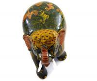 Handmade Wooden Elephant Statues