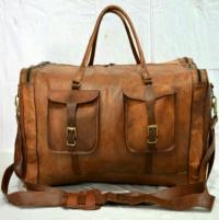 Vintage Leather Duffle Bags