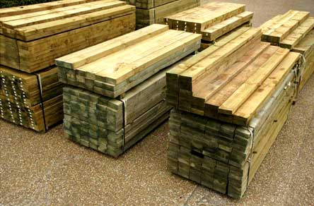 Treated Pine Timber