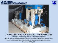 Rolling Mill For Bimetal Strip Sintering Line