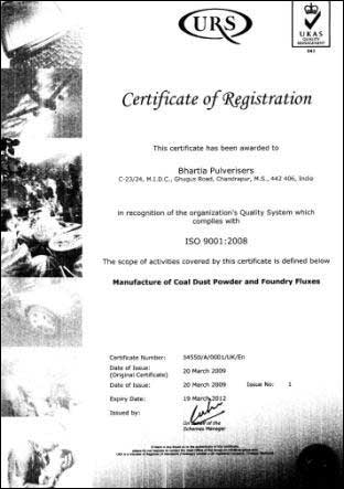 ISO Certificate 01