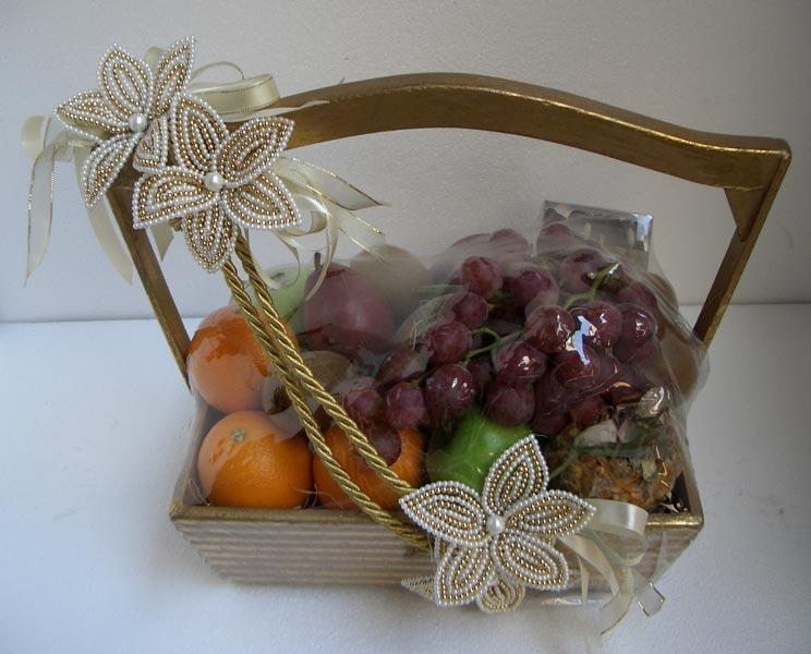 Decorative Fruit Basket Designer Fruit Baskets Fruit Gift